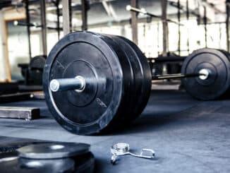 Vægtstang til styrketræning